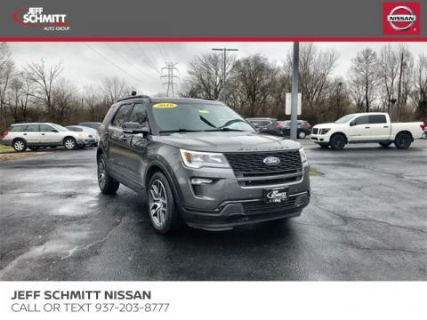Pre-Owned 2019 Ford Explorer Sport AWD 4D Sport Utility